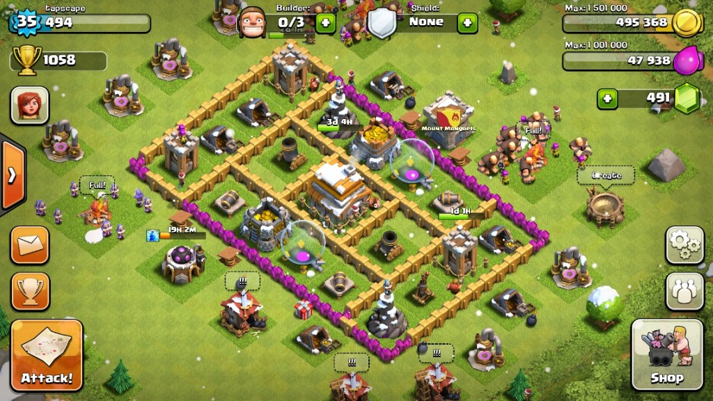 Секреты Clash of Clans
