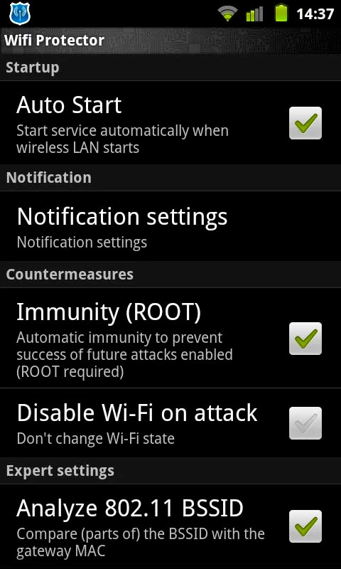 Защита Wifi Программа