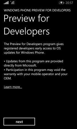 Preview for Developers ��� ��� �������� ���������� ������������!