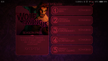 The Wolf Among Us (русская версия)